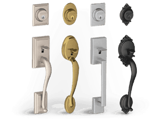 Portland locksmith combo handle sets
